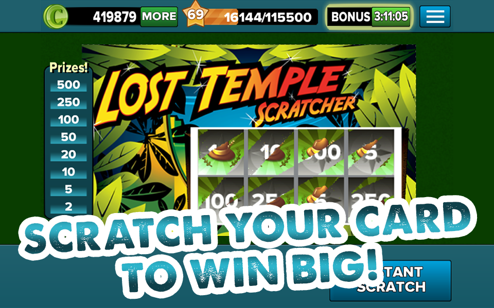 Lotto Heaven Scratch-Off Game - screenshot