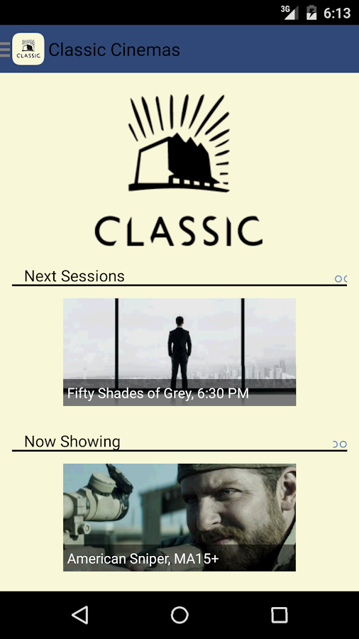 Classic Cinemas- screenshot