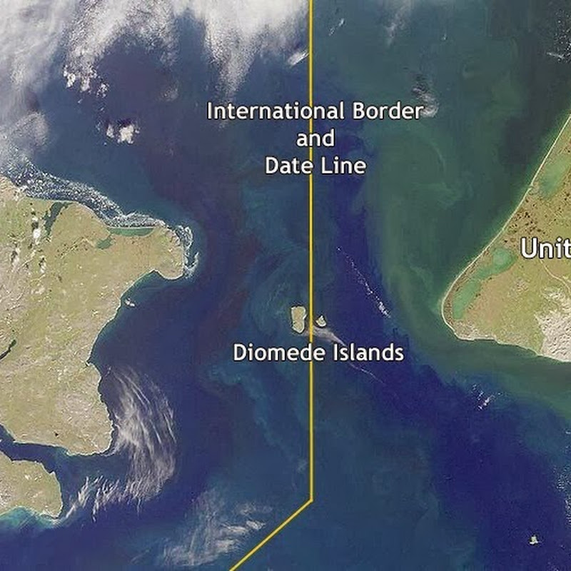 Diomede Islands: Two Islands Split by the US-Russian Border and the International Date Line