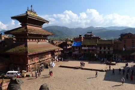 Piata centrala - Bhaktapur