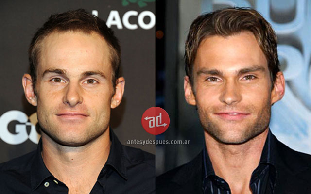 El parecido de Andy Roddick y Seann William Scott