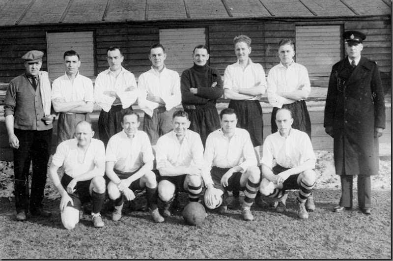 Hartlepool Divisional Football Team. Grayfields. 1949-50