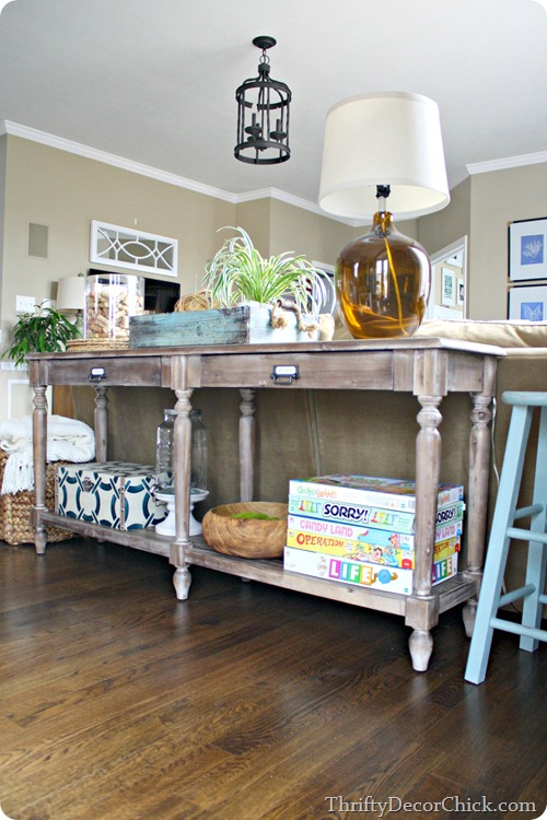 long sofa table