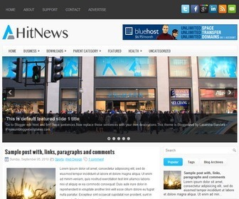 HitNews-Blogger-Template