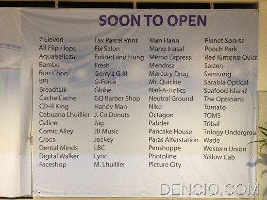 Now Open Stores District Mall Cavite
