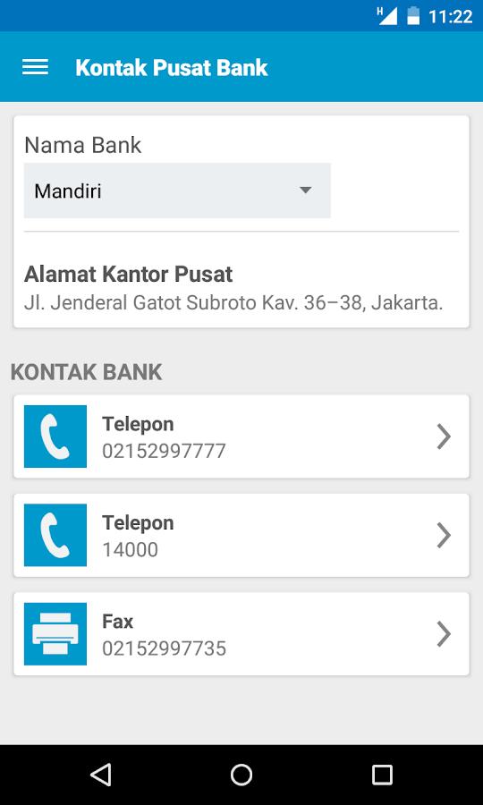 Kode ATM Bersama - screenshot