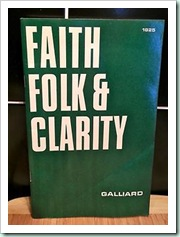 faith folk clarity
