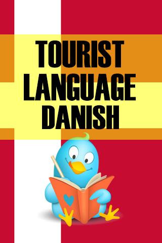 Tourist language Danish