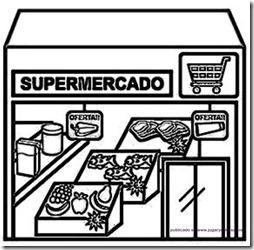 Tiendas De Barrio Para Colorear
