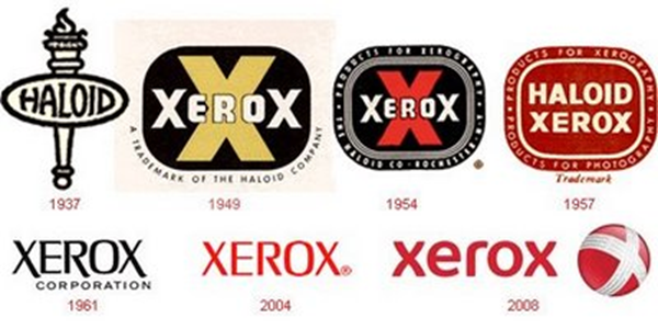 evolution logo xerox