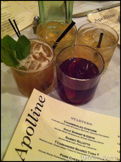 cocktails Apolline