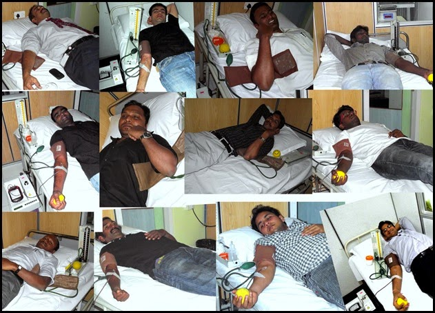Blood donation camp (14th feb 2011)