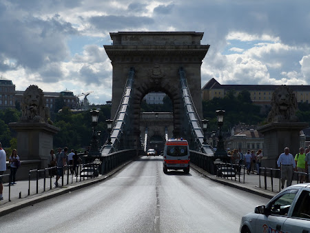 Obiective turistice Budapesta: Podul cu lanturi