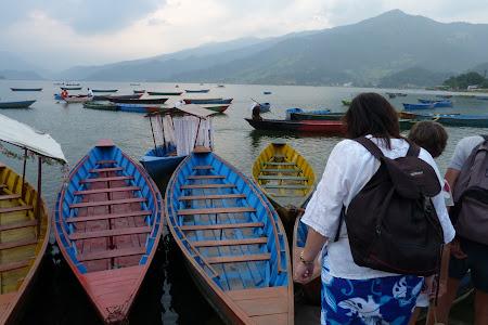 Obiective turistice Nepal: lac Pokhara