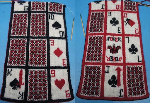 двусторонний жаккард Double Knitting Knitting Club нитин клаб