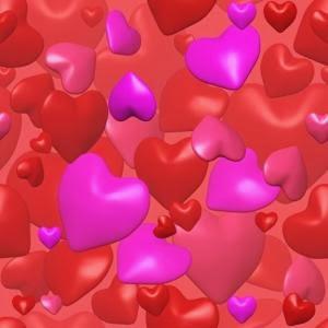 фон сердечки
