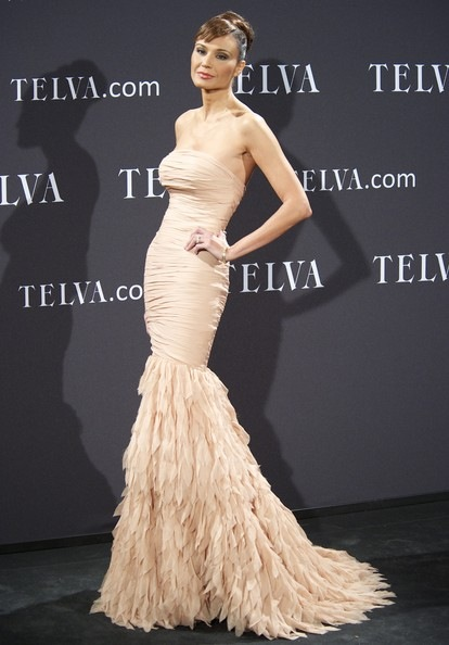 Juncal Rivero attends the Telva Awards 2011