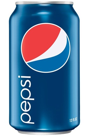 pepsi in the can