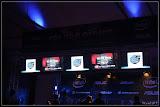Monitore über den Wettkampfplätzen (ESC.IcyBox)