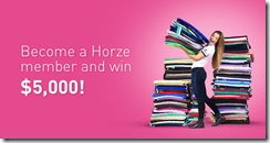 Horze signup_competition