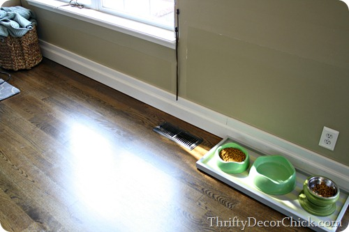 installing baseboards over old