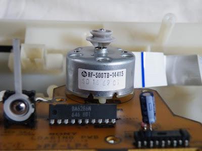 使われているモーター マブチRF-500TB-14415