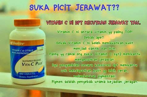 vitamin c shaklee kecutkan jerawat