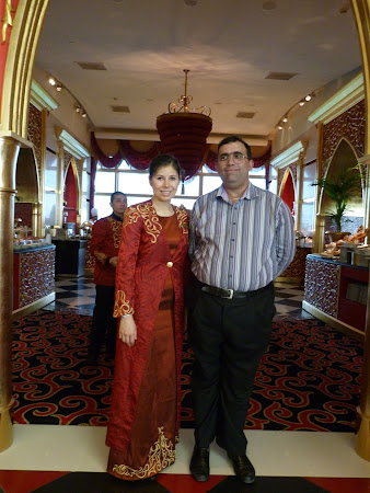 Hotel Burj-al-Arab: restaurant Al Iwan