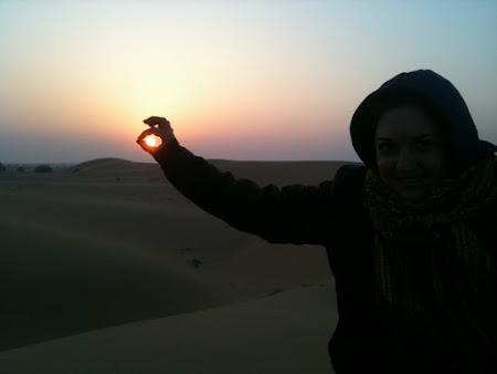 Rasarit de soare in desert - India