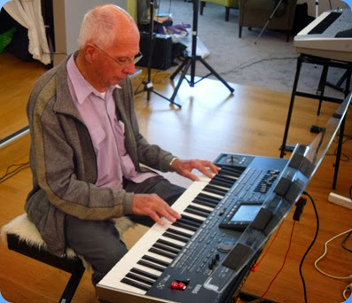 John Perkin playing the Korg Pa3X