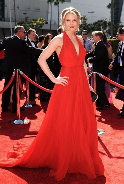 Jennifer Morrison attends The Academy Of Television Arts & Sciences 2012 Creative Arts Emmy Awards (2)
