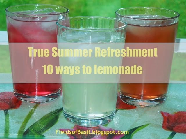10 homemade lemonade recipes