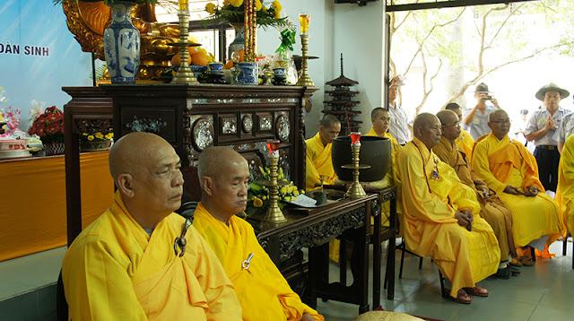 DSC06374 Lễ Hiệp kỵ   Lễ Huý Nhật Cư sĩ Sáng lập viên GĐPT Việt Nam   Tâm Minh Lê Đình Thám