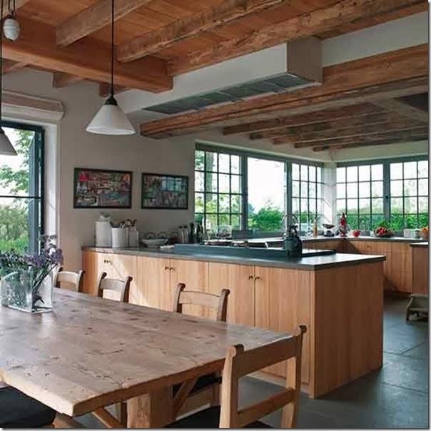 case e interni - stile country chic - soggiorno cucina bagno camera (4 ...