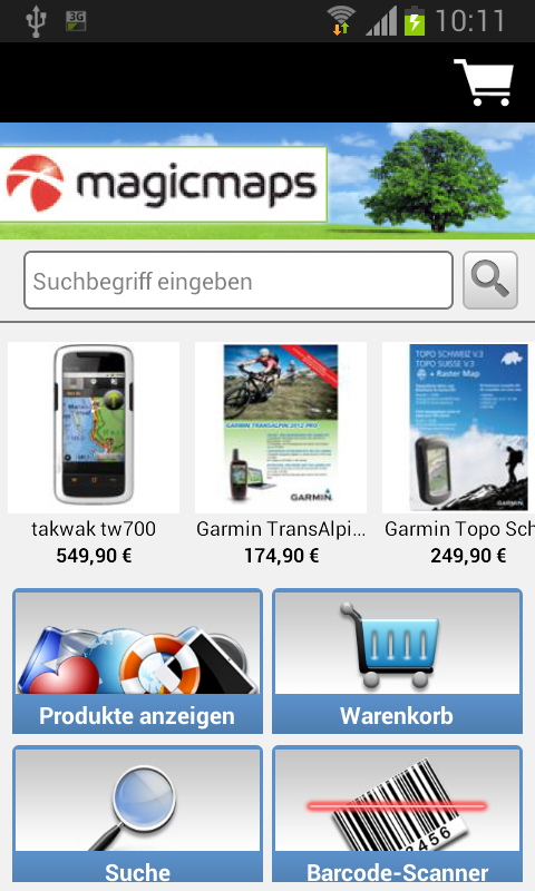 MagicMaps - screenshot