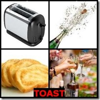 TOAST- 4 Pics 1 Word Answers 3 Letters