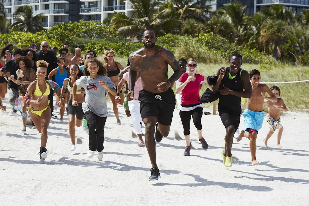 lowest price 8827c 0838b ... Nike Launches the LeBron James 8220Training Day8221 Campaign amp  Commercial ...