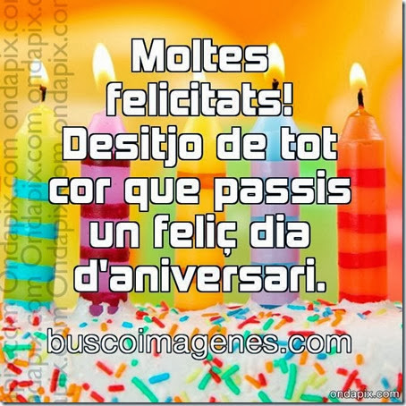 aniversari en catala
