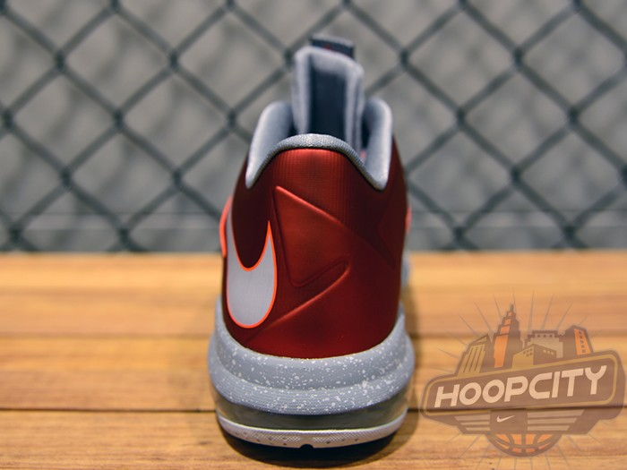 buy popular 334a4 8e029 ... Upcoming Nike Air Max LeBron X Low University Red Grey ...