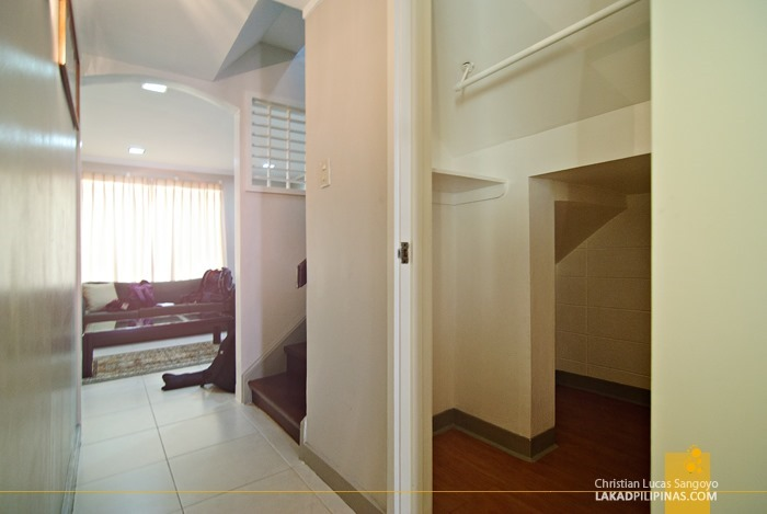 The Hallway with the Harry Potter Room at Subic Homes in Zambales
