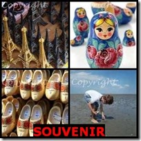 SOUVENIR- 4 Pics 1 Word Answers 3 Letters