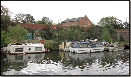 The Bridgewater Canal at Stretford