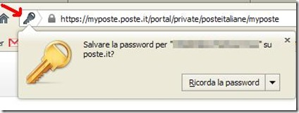 Password dialog begone mostra finestra popup salvataggio password Firefox