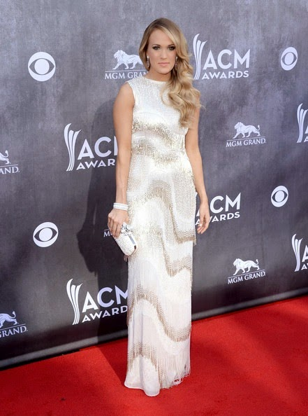 Carrie Underwood attends the 49th Annual Academy Of Country Music Awards