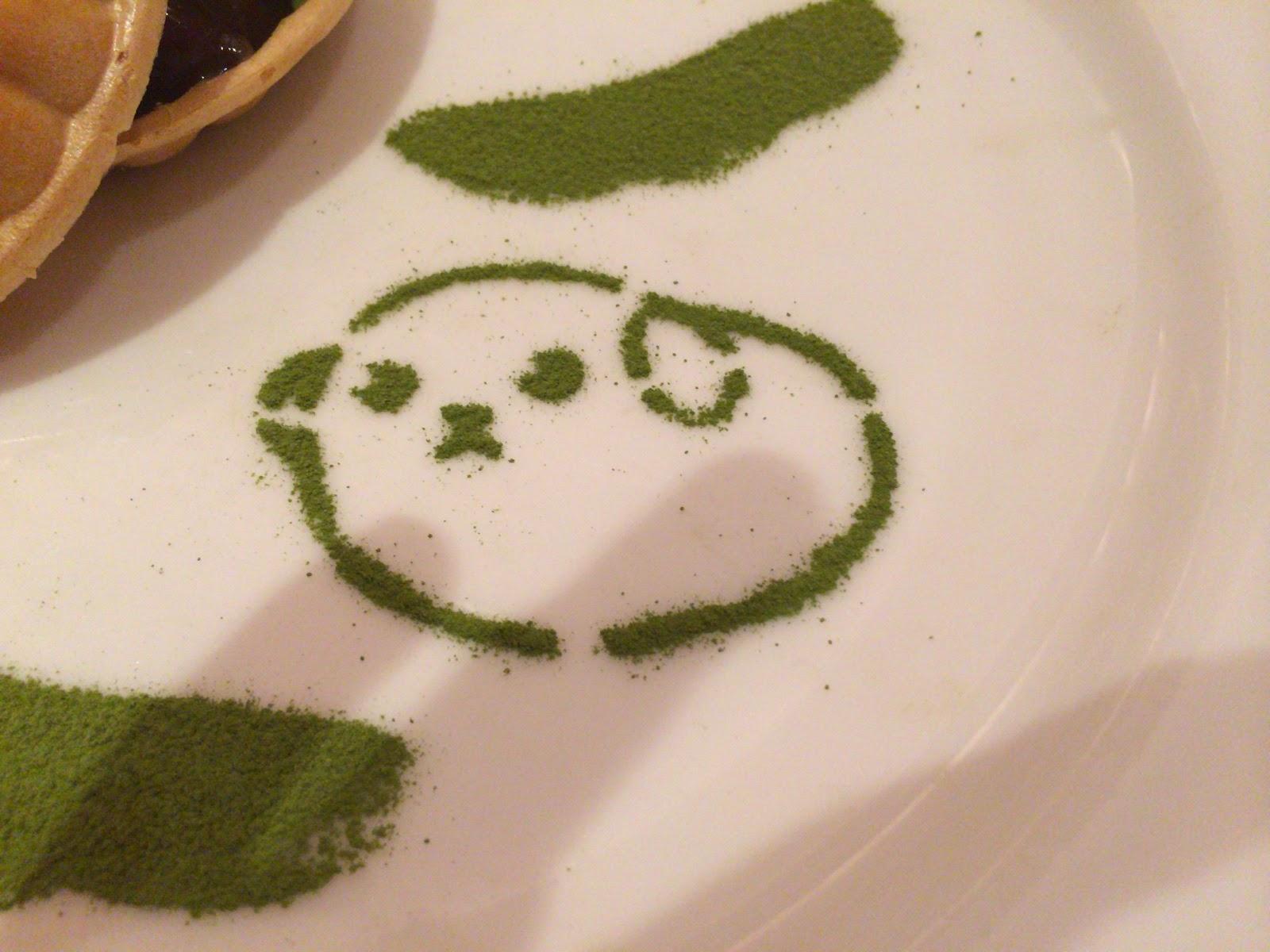 """""""豆しば抹茶アート"""""""