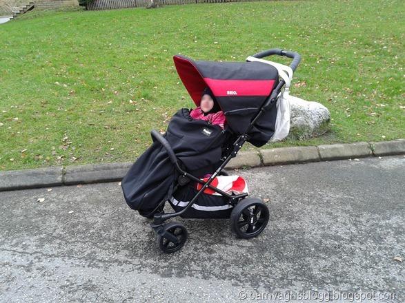 Testar Brio Spin - Barnvagnsblogg