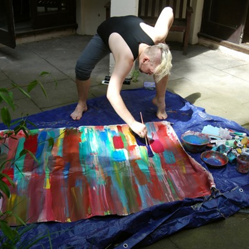 James Bell - An Artist and a Work of Art - Live Performance Painting