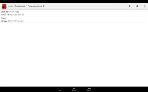 LectureRecordings - screenshot thumbnail