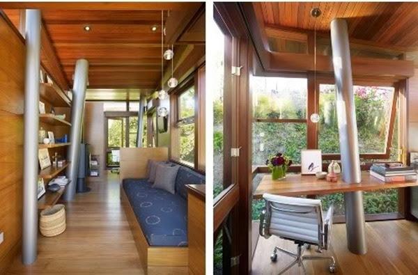 6 Maneras creativas de utilizar las columnas en tu hogar-8