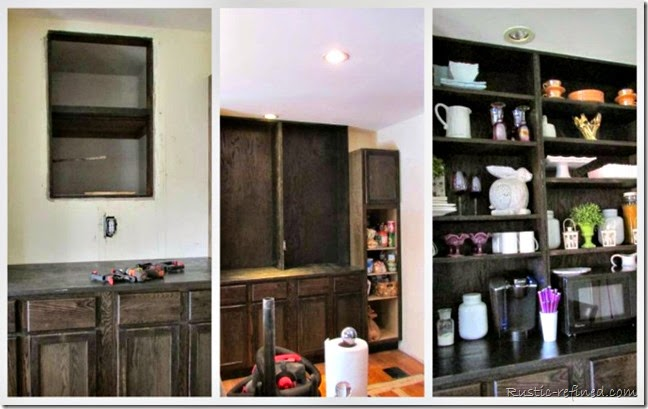 butlers pantry collage